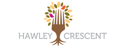 Hawley Crescent Fork Logo - small