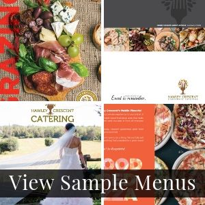Catering Menus by Hawley Crescent Catering