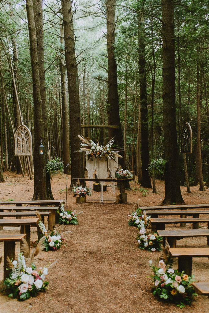 Whispering Springs Wedding catered by Hawley Crescent Catering & Events