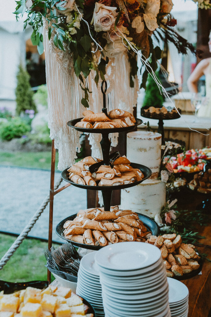 Chic Whispering Spring Wildnerness Retreat Wedding with Hawley Crescent Catering & Events