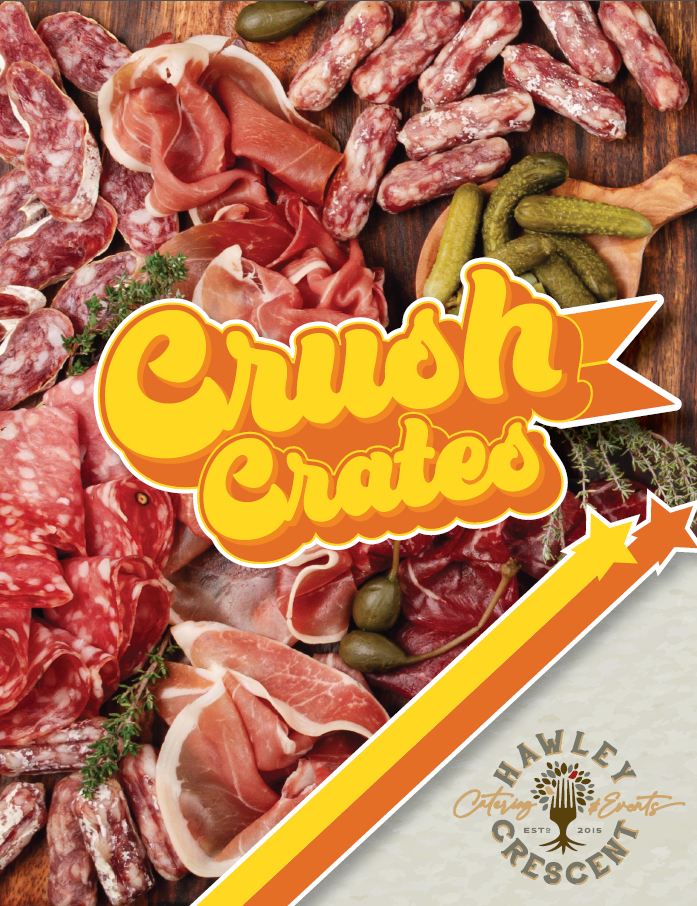 Crush Crates Menu by Hawley Crescent Catering