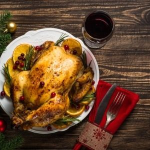 Turkey Dinner with Hawley Crescent