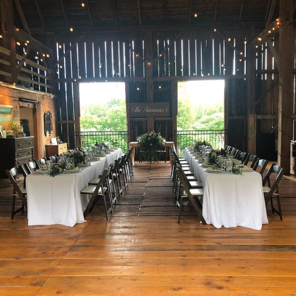 Barn Wedding with Hawley Crescent Catering & Events