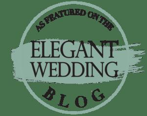 Elegant Wedding Blog Badge