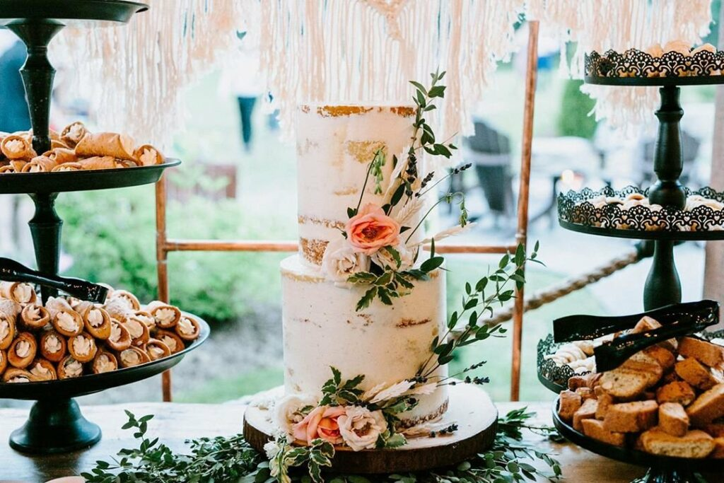 Hawley Crescent Catering & Events Wedding Cake
