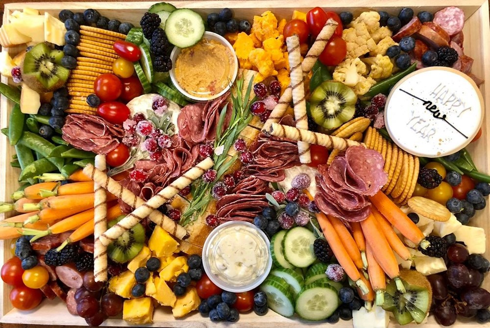 New Year's Eve Charcuterie Board - Catering by Hawley Crescent Catering & Events