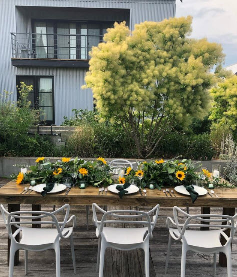 Outdoor Private Function with Hawley Crescent Catering & Events