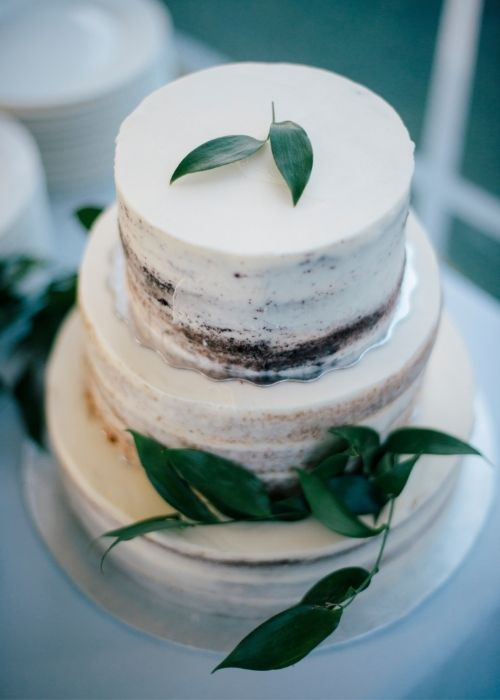 Wedding Cake by Hawley Crescent Catering & Events