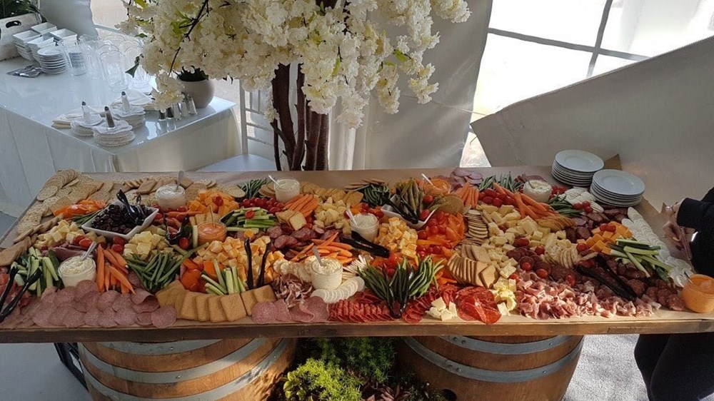 Wedding Charcuterie by Hawley Crescent Catering & Events